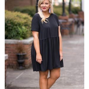 Bold Spirit Dress, Black